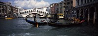 """Tourists on gondolas, Grand Canal, Venice, Veneto, Italy by Panoramic Images - 36"""" x 12"""""""