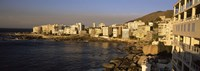 """City at the waterfront, Bantry Bay, Cape Town, Western Cape Province, Republic of South Africa by Panoramic Images - 36"""" x 12"""""""
