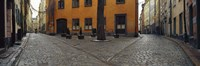"""Buildings in a city, Gamla Stan, Stockholm, Sweden by Panoramic Images - 36"""" x 12"""""""