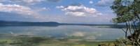"Reflection of clouds in water, Lake Nakuru, Lake Nakuru National Park, Great Rift Valley, Kenya by Panoramic Images - 36"" x 12"""
