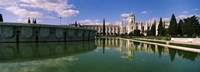 """Gardens Infront of Mosteiro Dos Jeronimos, Lisbon, Portugal by Panoramic Images - 36"""" x 12"""""""