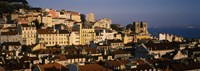 """Buildings in Alfama, Lisbon, Portugal by Panoramic Images - 36"""" x 12"""""""