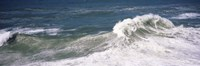 """High angle view of waves in the sea, Australia by Panoramic Images - 36"""" x 12"""""""