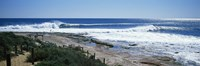 """Waves breaking on the beach, Western Australia, Australia by Panoramic Images - 36"""" x 12"""""""