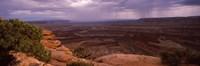 Clouds over an arid landscape, Canyonlands National Park, San Juan County, Utah Fine Art Print