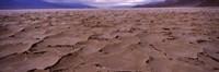 Textured salt flats, Death Valley National Park, California, USA Fine Art Print