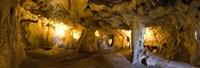 "Interiors of a prehistoric cave, Karain Cave, Ciglik, Antalya, Turkey by Panoramic Images - 36"" x 12"""