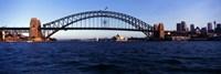 Bridge across the sea, Sydney Harbor Bridge, McMahons Point, Sydney Harbor, Sydney, New South Wales, Australia by Panoramic Images - various sizes