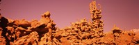 "Low angle view of rock formations, The Teapot, Fantasy Canyon, Uintah County, Utah, USA by Panoramic Images - 36"" x 12"""
