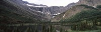 "Lake surrounded with mountains, Mountain Lake, US Glacier National Park, Montana, USA by Panoramic Images - 36"" x 12"""