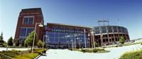 Facade of a stadium, Lambeau Field, Green Bay, Wisconsin, USA Fine Art Print