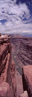"""River Passing Through atToroweap Overlook, North Rim, Grand Canyon by Panoramic Images - 12"""" x 36"""""""