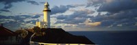 Lighthouse at the coast, Broyn Bay Light House, New South Wales, Australia Fine Art Print