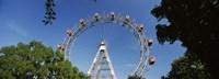 "Prater Park Ferris wheel, Vienna, Austria by Panoramic Images - 36"" x 12"""
