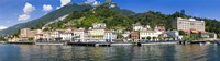 """Town at the waterfront, Tremezzo, Lake Como, Como, Lombardy, Italy by Panoramic Images - 36"""" x 10"""""""