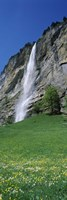 Murrenbach Falls, Lauterbrunnen Valley, Berne Canton, Switzerland by Panoramic Images - various sizes