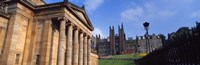 "Art museum with Free Church Of Scotland in the background, National Gallery Of Scotland, The Mound, Edinburgh, Scotland by Panoramic Images - 36"" x 12"""