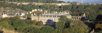 "High angle view of a palace, Holyrood Palace, Edinburgh, Scotland by Panoramic Images - 36"" x 12"""