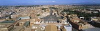 """Overview of the historic centre of Rome and St. Peter's Square, Vatican City, Rome, Lazio, Italy by Panoramic Images - 36"""" x 12"""""""