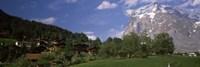 Mt Wetterhorn, Grindelwald, Bernese Oberland, Berne Canton, Switzerland Fine Art Print
