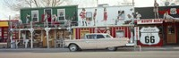 """Car on the road, Route 66, Arizona, USA by Panoramic Images - 36"""" x 12"""""""