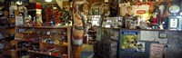 """Route 66 Store Interior, Hackberry, Arizona by Panoramic Images - 36"""" x 12"""""""