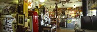 """Interiors of a store, Route 66, Hackberry, Arizona by Panoramic Images - 36"""" x 12"""""""