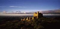 """Castle on a hill, Loarre Castle, Huesca, Aragon, Spain by Panoramic Images - 36"""" x 12"""""""