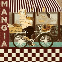 "Mangia by Kyle Mosher - 12"" x 12"""