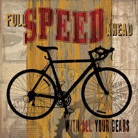 Full Speed Ahead Fine Art Print