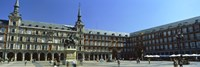 Tourists at a palace, Plaza Mayor, Madrid, Spain by Panoramic Images - various sizes