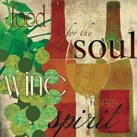 "Wine for the Spirit by Carol Robinson - 12"" x 12"""