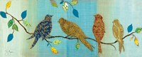 Bird Chat I Fine Art Print