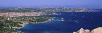 """Island in the sea, Capo D'Orso, Palau, Sardinia, Italy by Panoramic Images - 36"""" x 12"""""""