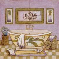 "Lavender Bath I by s - 12"" x 12"" - $10.49"
