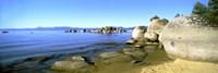 Boulders at the Coast, Lake Tahoe, California Fine Art Print