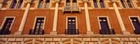 Low angle view of an educational building, Rice University, Houston, Texas, USA Fine Art Print
