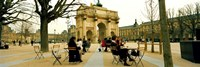 "Arc De Triomphe Du Carrousel, Musee Du Louvre, Paris, Ile-de-France, France by Panoramic Images - 36"" x 12"""