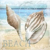 "The Beach by Conrad Knutsen - 12"" x 12"", FulcrumGallery.com brand"