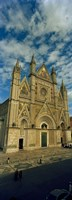 """Facade of a cathedral, Duomo Di Orvieto, Orvieto, Umbria, Italy by Panoramic Images - 12"""" x 36"""""""