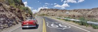 Vintage car on Route 66, Arizona Fine Art Print