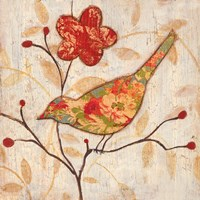 Song Bird Revisited II Fine Art Print