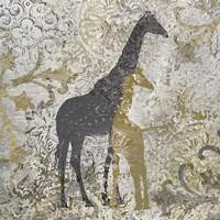 Giraffes Exotiques Fine Art Print