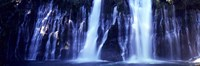 """Waterfall in Memorial State Park, California by Panoramic Images - 36"""" x 12"""""""