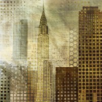"Chrysler Building by Katrina Craven - 18"" x 18"""