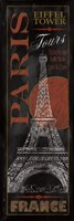 "Paris Tours by Conrad Knutsen - 12"" x 36"""