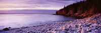 """Sunset over the coast, Acadia National Park, Maine by Panoramic Images - 36"""" x 12"""""""