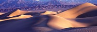 "Sand Dunes and Mountains, Death Valley National Park, California by Panoramic Images - 36"" x 12"""