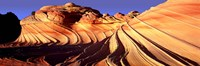 """Sandstone hills, The Wave, Coyote Buttes, Utah, USA by Panoramic Images - 36"""" x 12"""""""