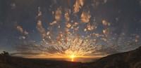 "Sunset over the Pacific ocean, Kealakekua Bay, Kona Coast, Kona, Hawaii, USA by Panoramic Images - 36"" x 12"""